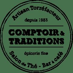 logo comptoir et traditions noir - Contact & Plan