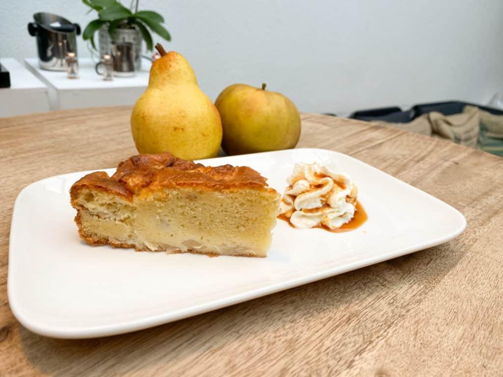 IMG 8758 - Gâteau de la semaine : Le gâteau pommes poires !