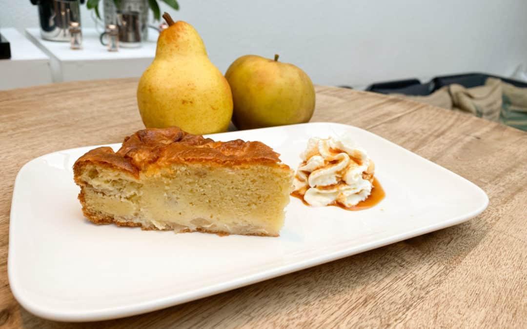 Gâteau de la semaine : Le gâteau pommes poires !