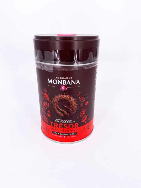 """chocolatpoudrenature - Chocolat en poudre """"Trésor"""" 250G"""