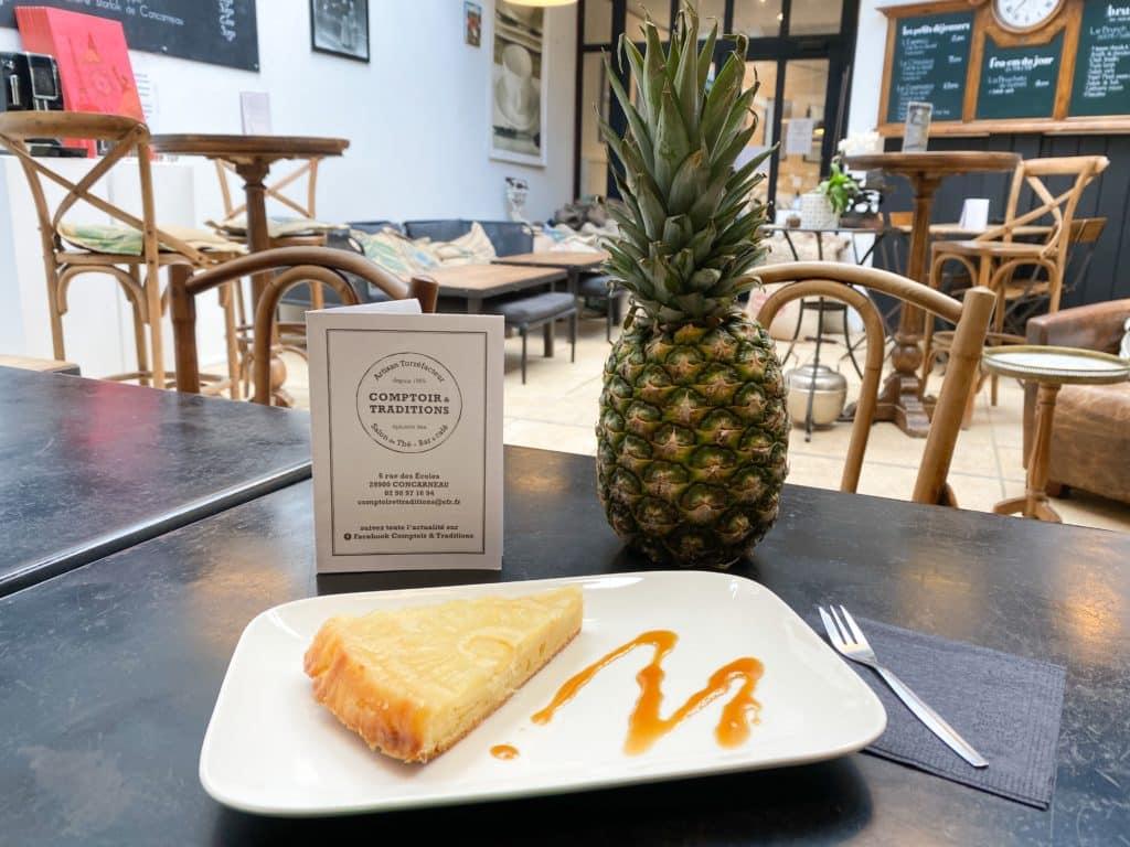 img 9045 - Gâteau de la semaine : Le renversé à l'ananas !