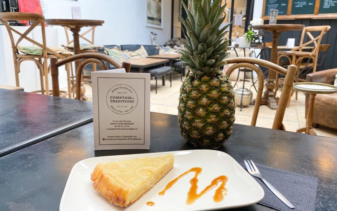 Gâteau de la semaine : Le renversé à l'ananas !