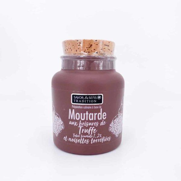 savor moutardes couleur brisure de truffe et noisettes - Moutarde - BRISURES DE TRUFFE 110G