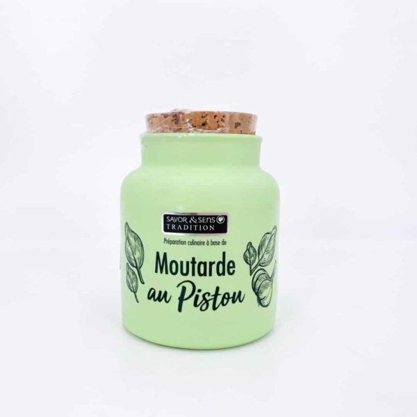 savor moutardes couleur pistou - Moutarde - PISTOU 110G