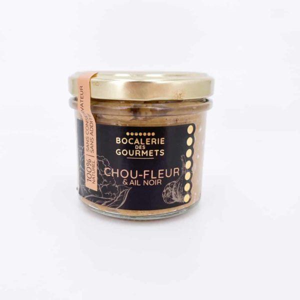 bocalerie des gourmets chou fleur ail noir legumes - Tartinable légumes - CHOU FLEUR & AIL NOIR 110G
