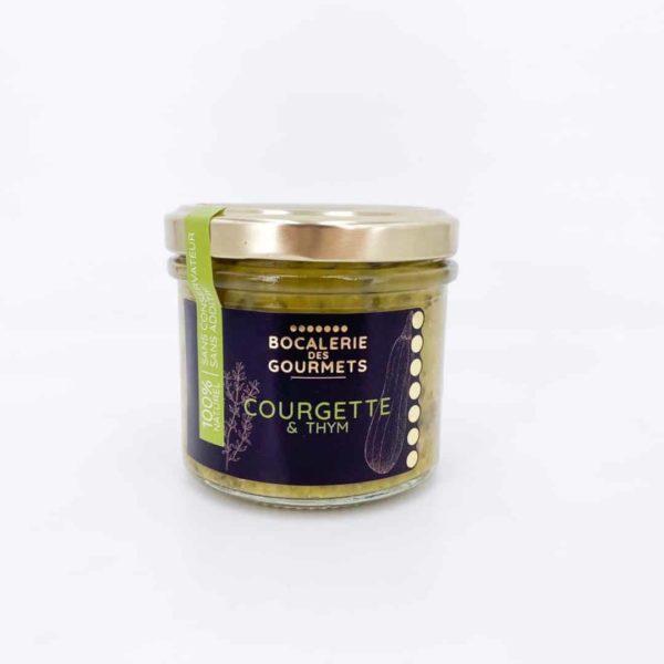bocalerie des gourmets tartinable legumes courgette - Tartinable de légumes - COURGETTE 110G