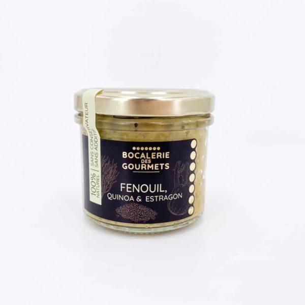 bocalerie des gourmets tartinable legumes fenouil - Tartinable de légumes - FENOUIL 110G