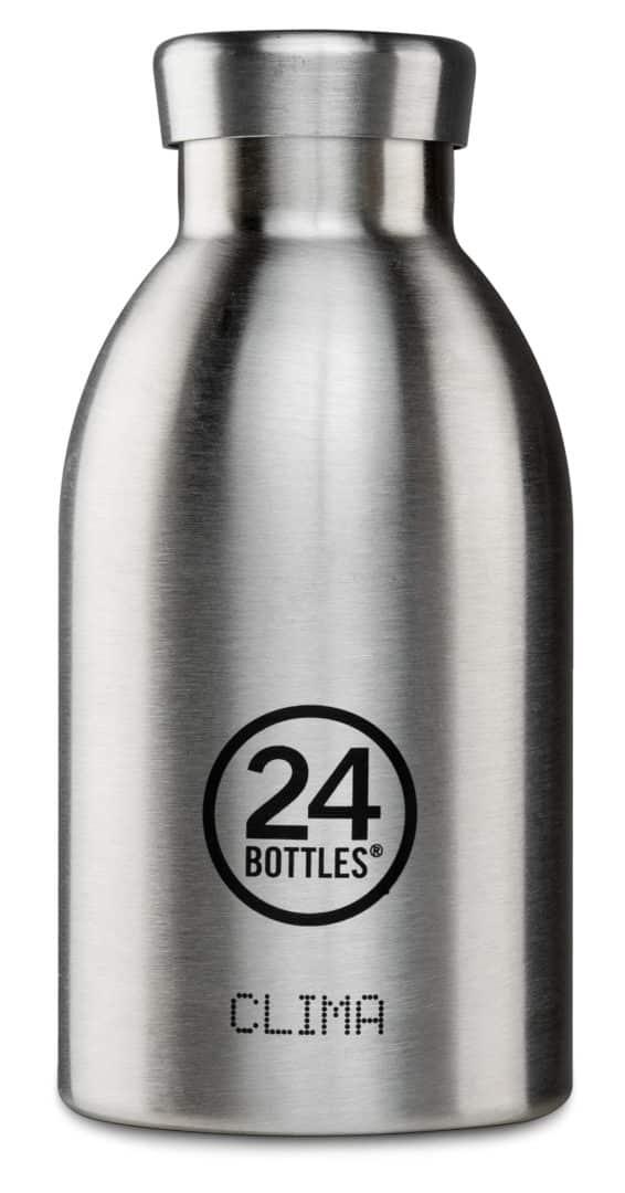 Clima Steel 330ml I - CLIMA Bottle 330ml - Steel