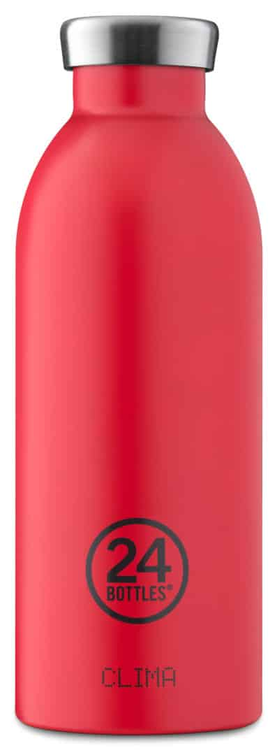 Hot Red Clima 500ml I - CLIMA Bottle 500ml - Hot Red
