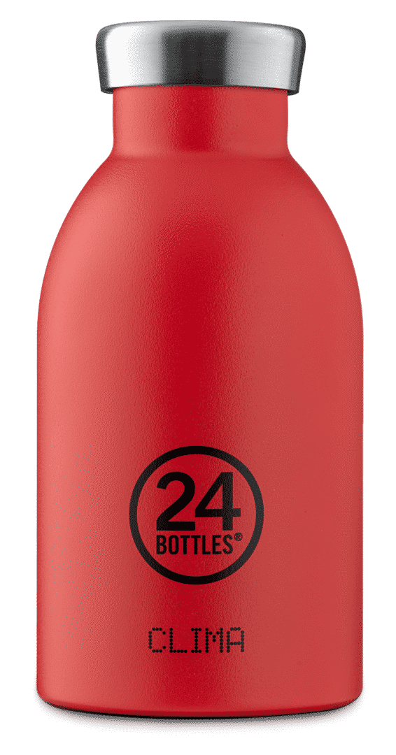 Hot Red STONE Clima 330ml I - CLIMA Bottle 330ml - Hot Red