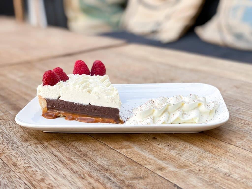 img 5277 jpg - Le gâteau de la semaine - La tarte chocolat / caramel beurre salé !