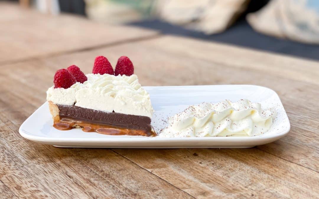 Le gâteau de la semaine – La tarte chocolat / caramel beurre salé !