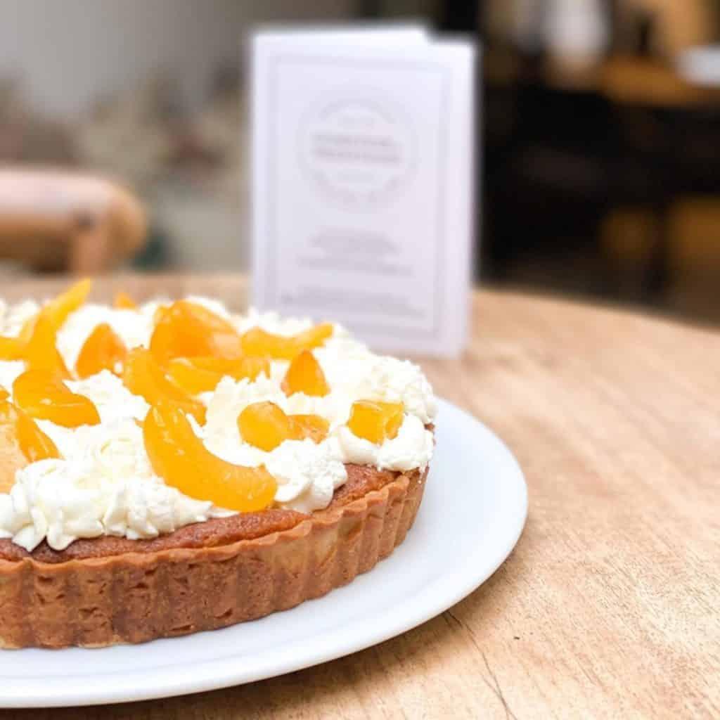 tarte a labricot - C'est la reprise !!